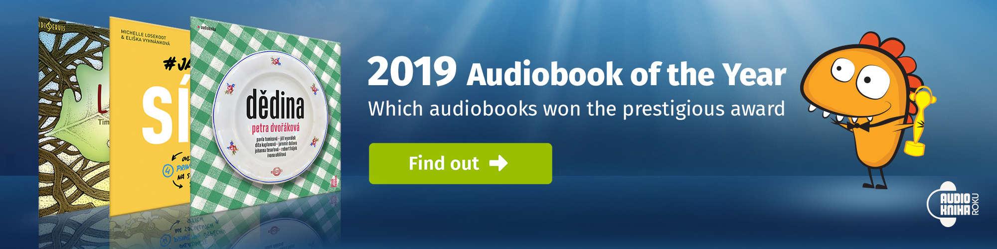 Audiokniha roku 2019