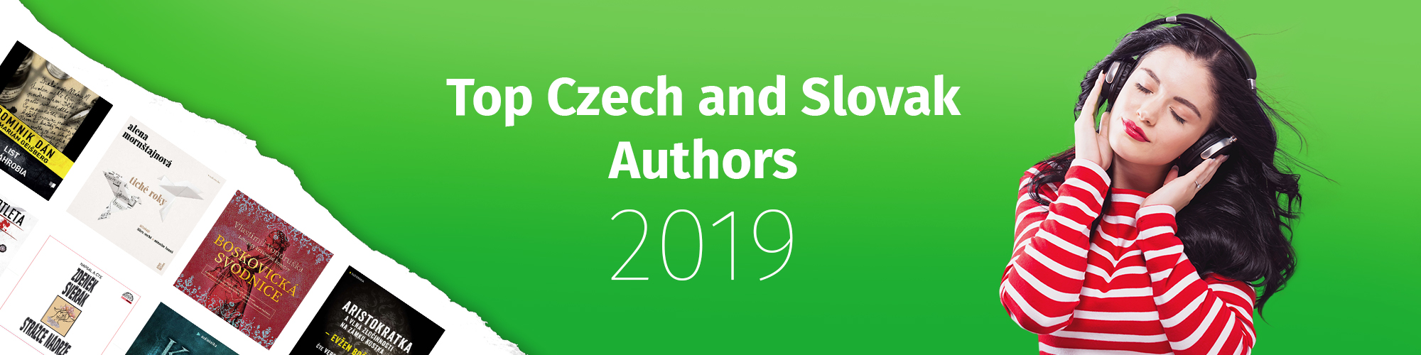Top Czech and Slovak Authors of 2019