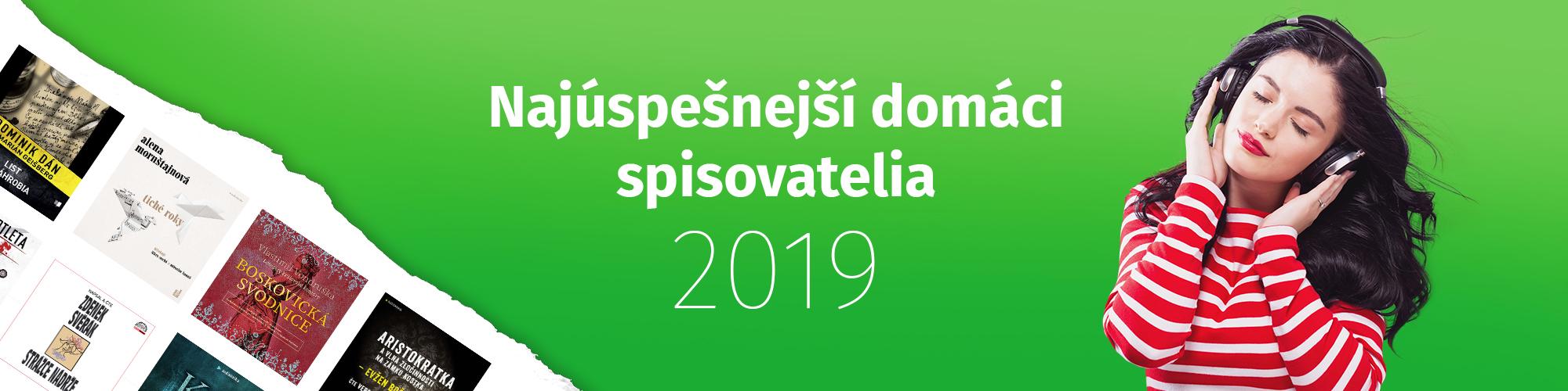 Najúspešnejší domáci autori roku 2019