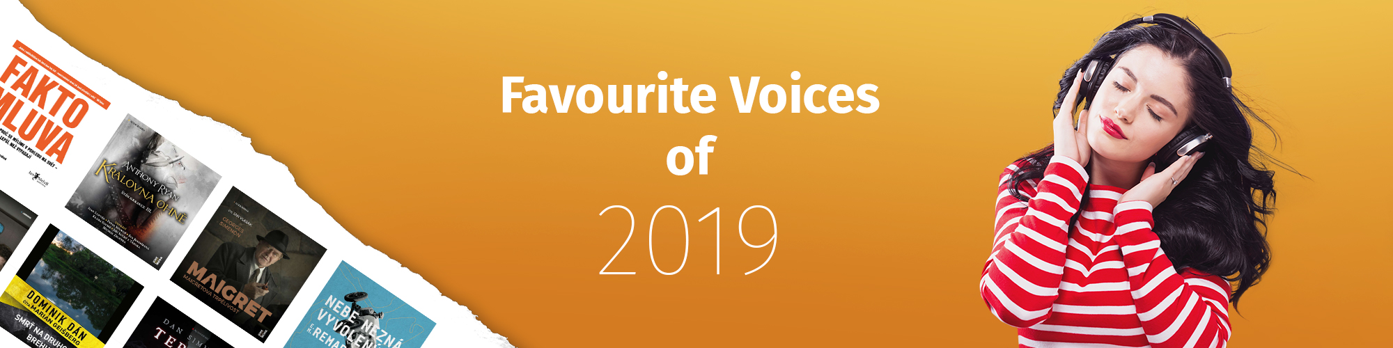 Favourite Audiobook Narrators of 2019