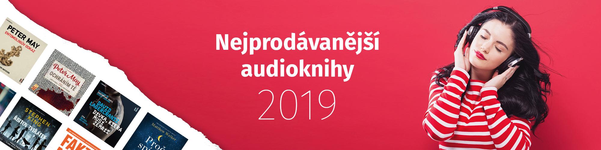 Nejprodávanější audioknihy roku 2019