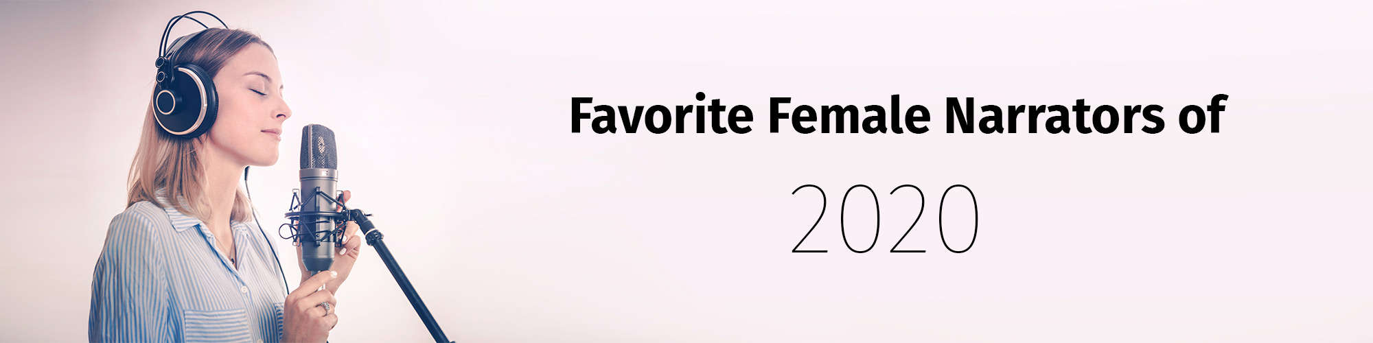 Favourite Female Voices of 2020