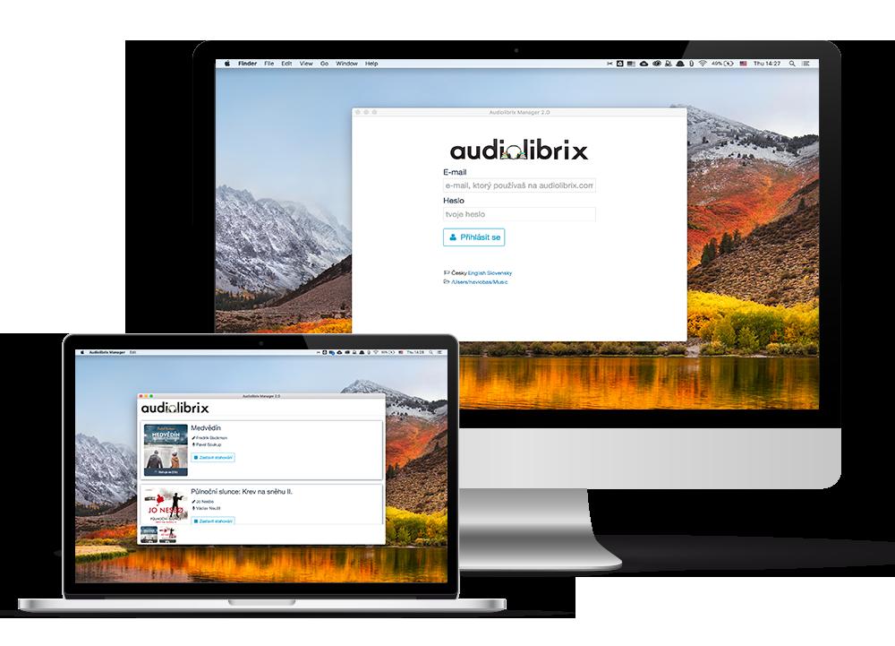 Audiolibrix Manager