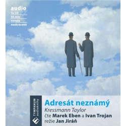 Audiokniha Adresát neznámý - Kressmann Taylor - Marek Eben