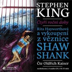 Audiokniha Rita Hayworthová a vykoupení z věznice Shawshank - Stephen King - Oldřich Kaiser