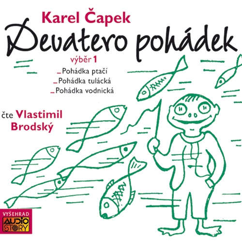 Audiokniha Devatero pohádek (výběr) - Karel Čapek - Vlastimil Brodský