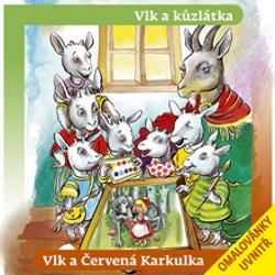Vlk a kůzlátka, Vlk a Červená Karkulka - Authors Various (Audiokniha)