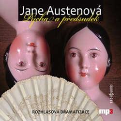 Audiokniha Pýcha a předsudek - Jane Austenová - Martin Štěpánek