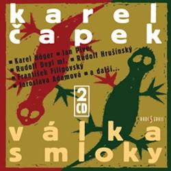 Válka s mloky - Karel Čapek (Audiokniha)