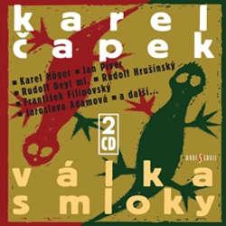 Audiokniha Válka s mloky - Karel Čapek - Karl Höger