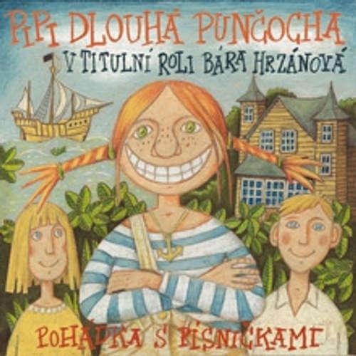 Audiokniha Pipi Dlouhá punčocha - Astrid Lindgrenová - Barbora Hrzánová