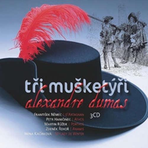 Audiokniha Tři mušketýři - Alexandre Dumas st. - Rudolf Pellar