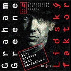 Audiokniha Lidský faktor - Graham Greene - Hana Maciuchová