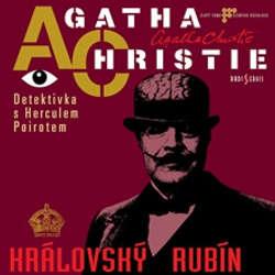 Audiokniha Královský rubín - Agatha Christie - Marek Eben