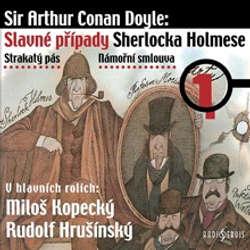Audiokniha Slavné případy Sherlocka Holmese 1 - Arthur Conan Doyle - Růžena Merunková