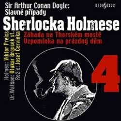 Audiokniha Slavné případy Sherlocka Holmese 4 - Arthur Conan Doyle - Viktor Preiss