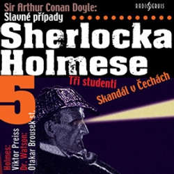 Audiokniha Slavné případy Sherlocka Holmese 5 - Arthur Conan Doyle - Viktor Preiss