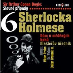 Audiokniha Slavné případy Sherlocka Holmese 6 - Arthur Conan Doyle - Viktor Preiss
