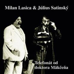 Telefonát od doktora Mäkčeňa - Milan Lasica (Audiokniha)