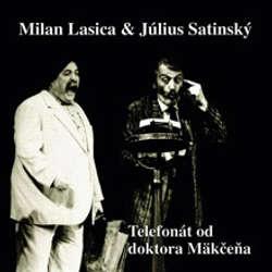 Audiokniha Telefonát od doktora Mäkčeňa - Milan Lasica - Milan Lasica
