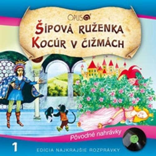 Audiokniha Najkrajšie rozprávky 1 - Najkrajšie Rozprávky - Eva Rysová