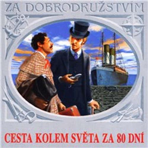 Audiokniha Cesta kolem světa za 80 dní - Jules Verne - Ladislav Mrkvička