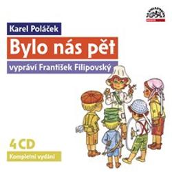 Bylo nás pět - Karel Poláček (Audiokniha)