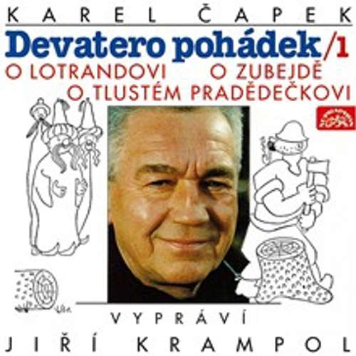 Audiokniha Devatero pohádek 1 - Karel Čapek - Jiří Krampol
