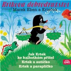 Audiokniha Krtečkova dobrodružství 1 - Hana Doskočilová - Marek Eben