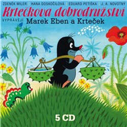Audiokniha Krtečkova dobrodružství - Jan Fuchs - Marek Eben