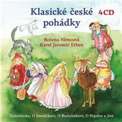 Audiokniha Klasické české pohádky - Karel Jaromír Erben - Růžena Merunková