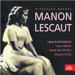 Audiokniha Manon Lescaut - Vítězslav Nezval - Libuše Šafránková