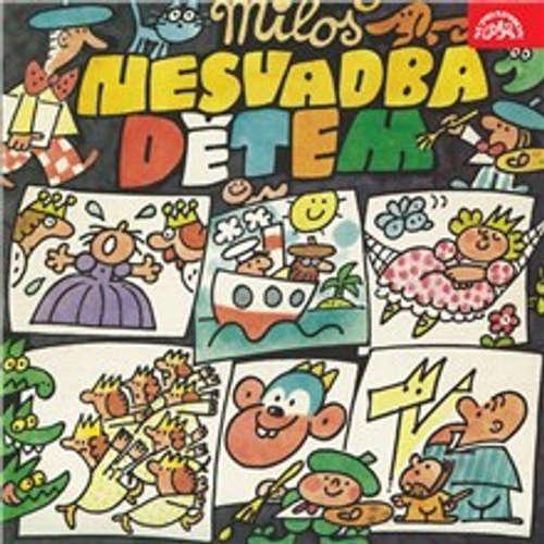 Audiokniha Miloš Nesvadba Dětem - Miloš Nesvadba - Milan Friedl