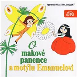 O makové panence a motýlu Emanuelovi - Václav Čtvrtek (Audiokniha)