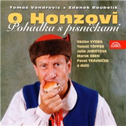 O Honzovi - Tomáš Vondrovic (Audiokniha)