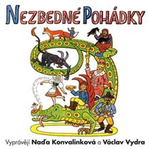 Audiokniha Nezbedné pohádky - Josef Lada - Marek Eben