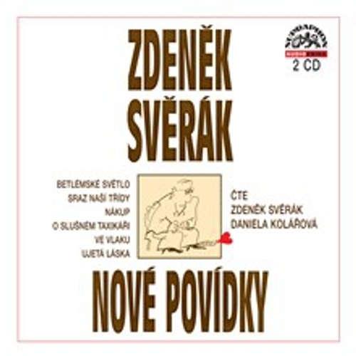 Audiokniha Nové povídky - 6 povídek - Zdeněk Svěrák - Daniela Kolářová