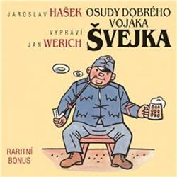 Osudy dobrého vojáka Švejka (raritní bonus ke 12-dílnému kompletu) - Jaroslav Hašek (Audiokniha)