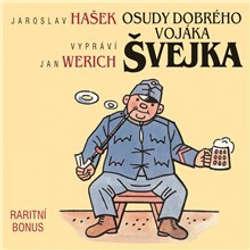 Audiokniha Osudy dobrého vojáka Švejka (raritní bonus ke 12-dílnému kompletu) - Jaroslav Hašek - Vlastimil Brodský