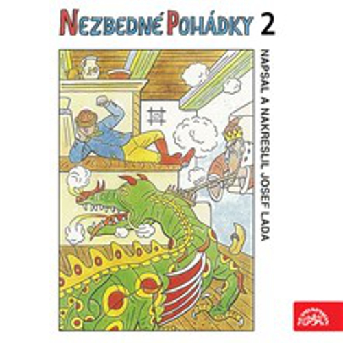 Nezbedné pohádky 2 - Josef Lada (Audiokniha)