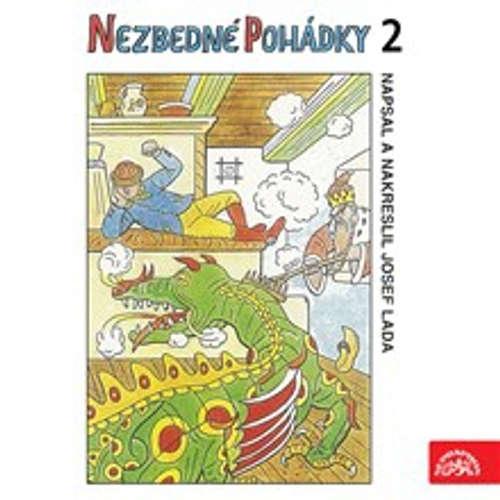 Audiokniha Nezbedné pohádky 2 - Josef Lada - Václav Vydra