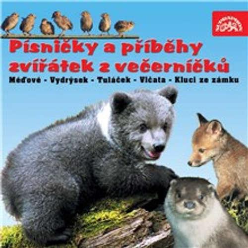 Audiokniha Písničky a příběhy zvířátek z večerníčků - Václav Chaloupek - Václav Chaloupek