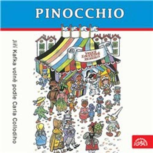 Audiokniha Pinocchio - Jiří Kafka - Vlastimil Brodský