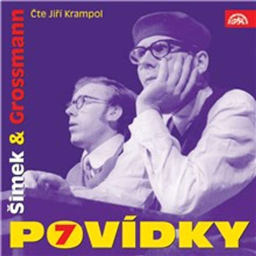 Audiokniha Povídky Šimka a Grosmanna 7 - Miloslav Šimek - Jiří Krampol