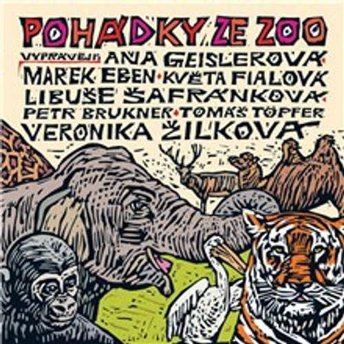Audiokniha Pohádky ze ZOO - Pavel Šrut - Marek Eben