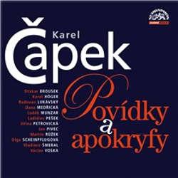 Audiokniha Povídky a apokryfy - Karel Čapek - Martin Růžek