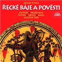 Řecké báje a pověsti - Tomáš Vondrovic (Audiokniha)