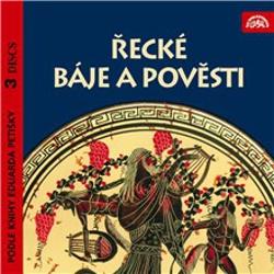 Řecké báje a pověsti I.-III. - Tomáš Vondrovic (Audiokniha)