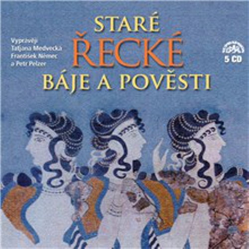 Staré řecké báje a pověsti (komplet 5 alb) - Tomáš Vondrovic (Audiokniha)
