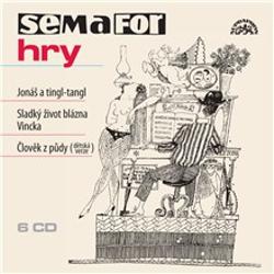 Semafor hry - Jonáš a tingl-tangl - Jiří Suchý (Audiokniha)